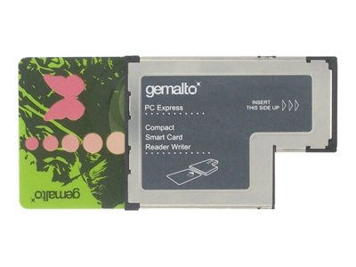 Gemalto GemPC ExpressCard SC Reader, HWP114310, 8507560, PC Card/Flash Memory Readers