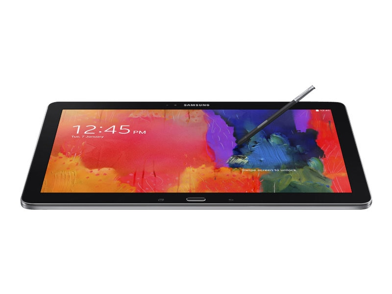 Samsung Galaxy Note Pro QC 1.3GHz 3GB 32GB abgn ac BT GPS 2xWC 12.2 WQXGA Android 4.4, Black, SM-P9000ZKVXAR, 16769261, Tablets