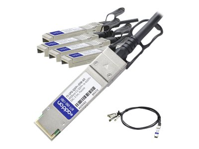 ACP-EP 40GBase-CU QSFP+ to 4xSFP+ Twinax Passive Cable, 0.5m for F5 Networks, F5-UPG-QSFP+-05M-AO