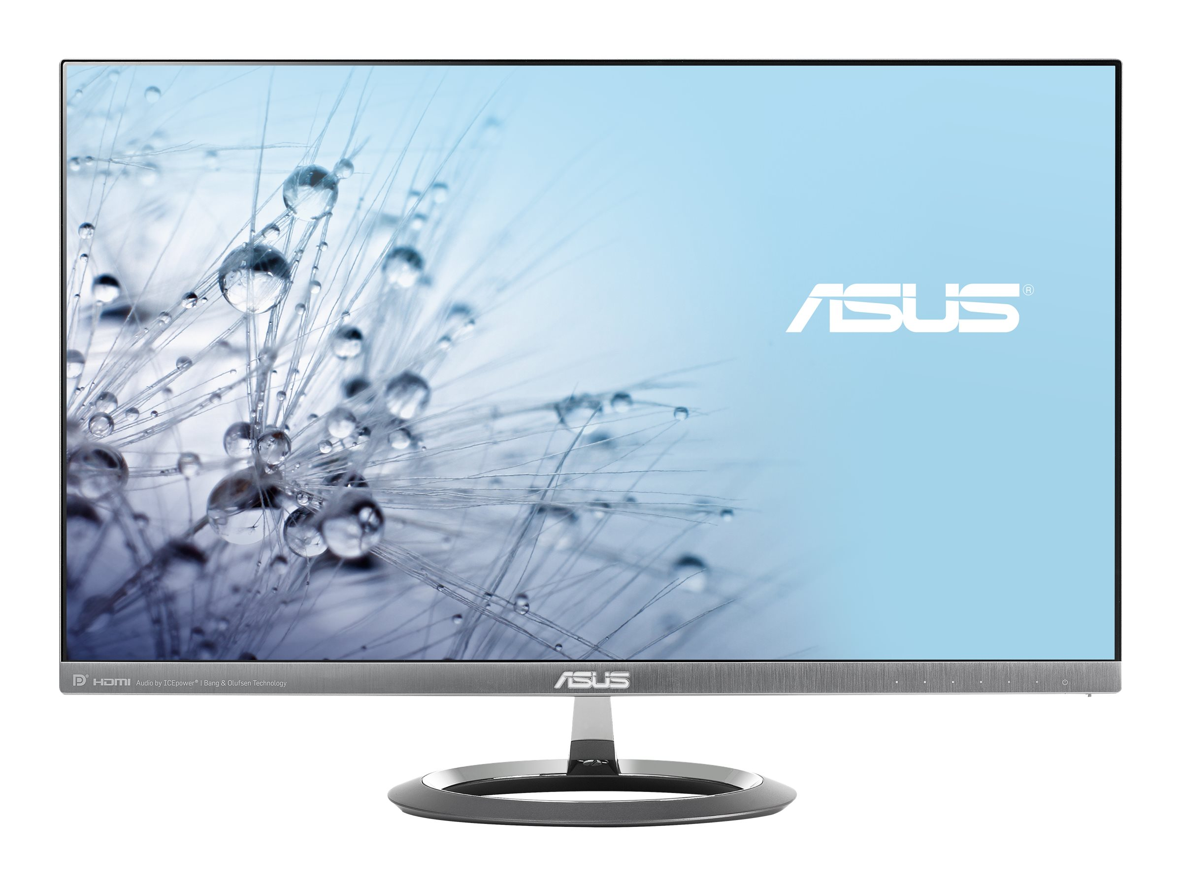 Asus 25 MX25AQ WQHD LED-LCD Monitor, Gray, MX25AQ, 30814654, Monitors - LED-LCD