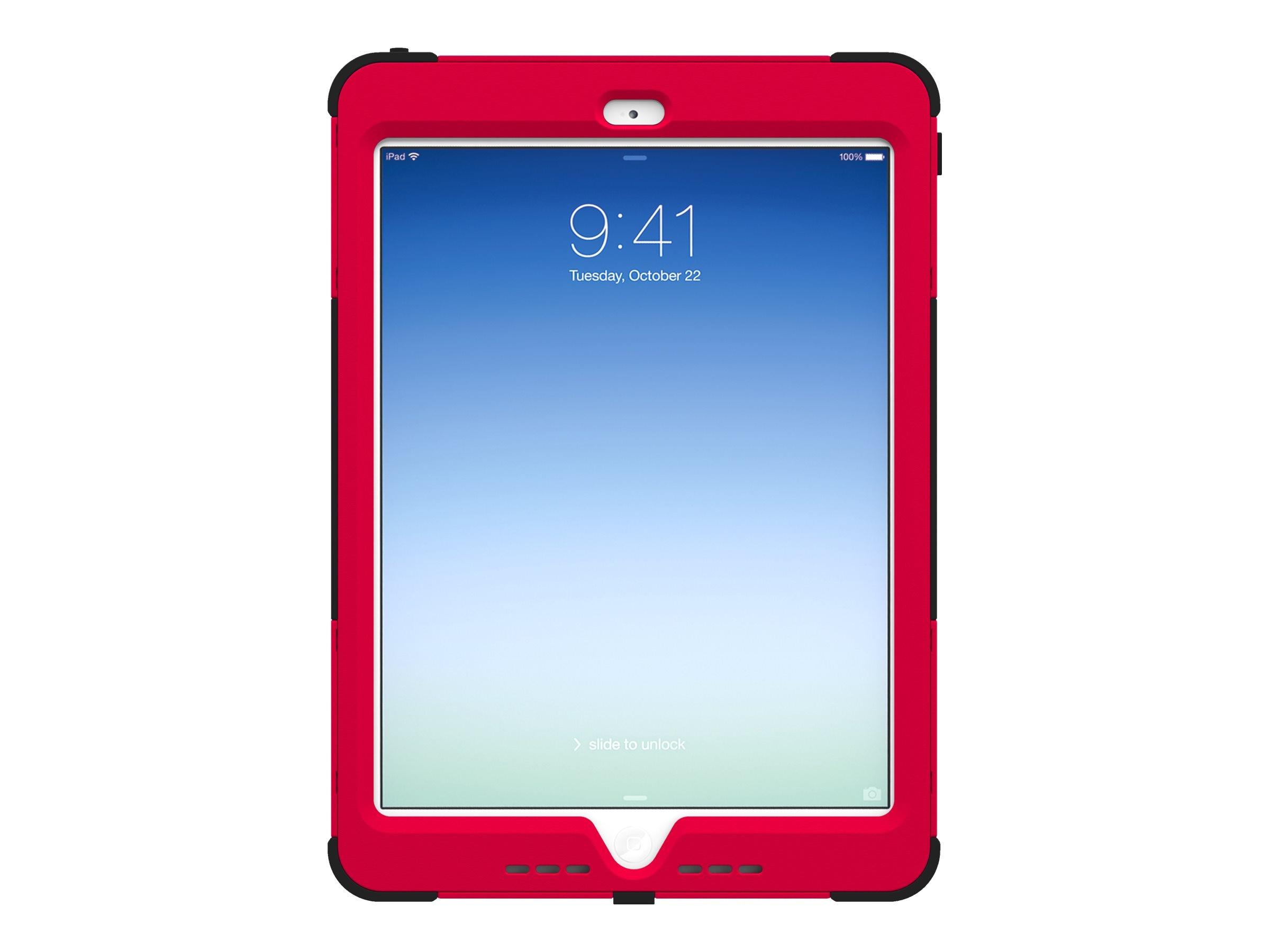 Trident Case Kraken AMS Case for Apple iPad Air, Red, AMS-APL-IPAD5-RED
