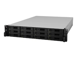 Synology 2U 12-Bay Expansion Unit for FlashStation, RX1217SAS, 33759380, Network Attached Storage