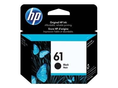 HP 61 (CH561WN) Black Original Ink Cartridge, CH561WN#140