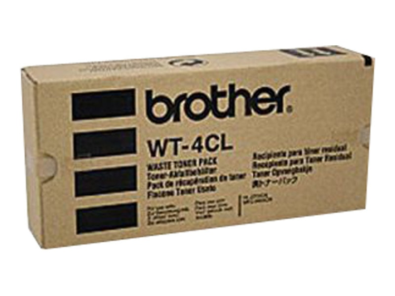 Brother Waste Toner Pack for HL-2700CN Color Printer, WT-4CL, 5446343, Toner and Imaging Components
