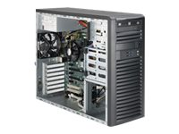 Supermicro SuperServer 5039A-IL Tower LGA1151 2133MHz 4xBays 500W, Black