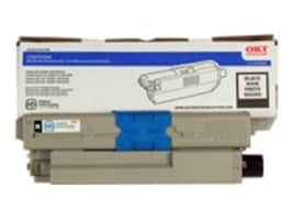 Oki Black Toner Cartridge for C530dn & C330dn Series Printers, 44469801, 11711094, Toner and Imaging Components