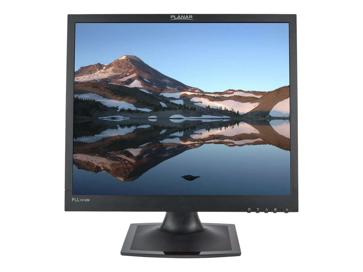 Planar 19 PLL1910M LED-LCD Monitor with Speakers, Black