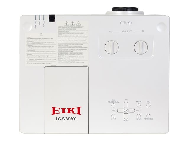 Eiki LC-WB500 LCD Projector, 5100 Lumens, LC-WBS500