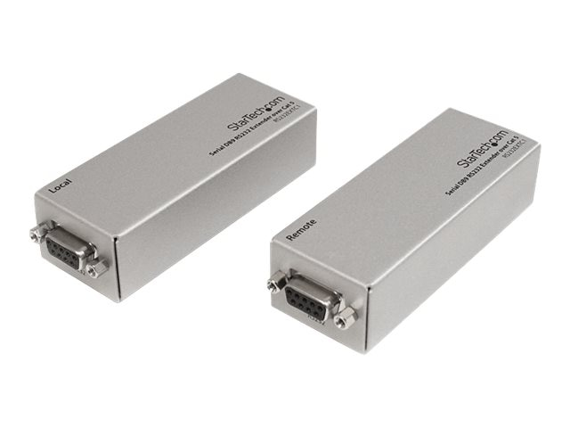 StarTech.com Serial DB9 RS232 Extender over Cat5