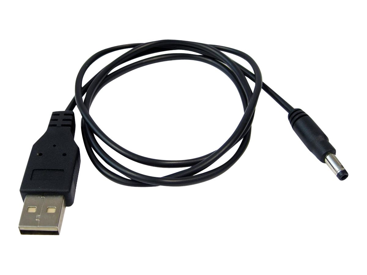 Socket Mobile USB and DC Barrel Cable