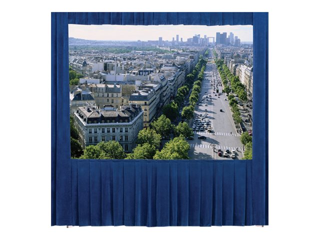 Da-Lite Ultra Velour Drapery Kits for Heavy Duty Deluxe Frames, 8'6 x 14'4, 36597, 17982127, Projector Screen Accessories