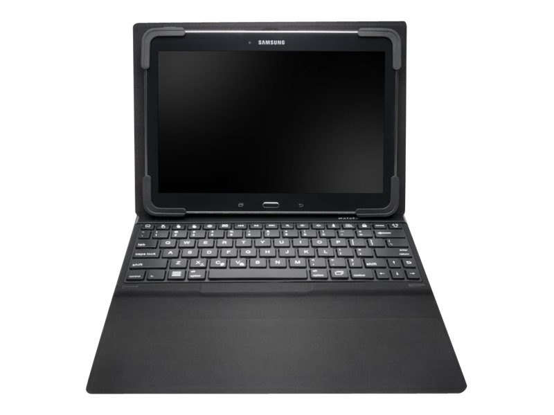 Kensington KeyFolio Fit for Galaxy Tab 4, Black, K97317US