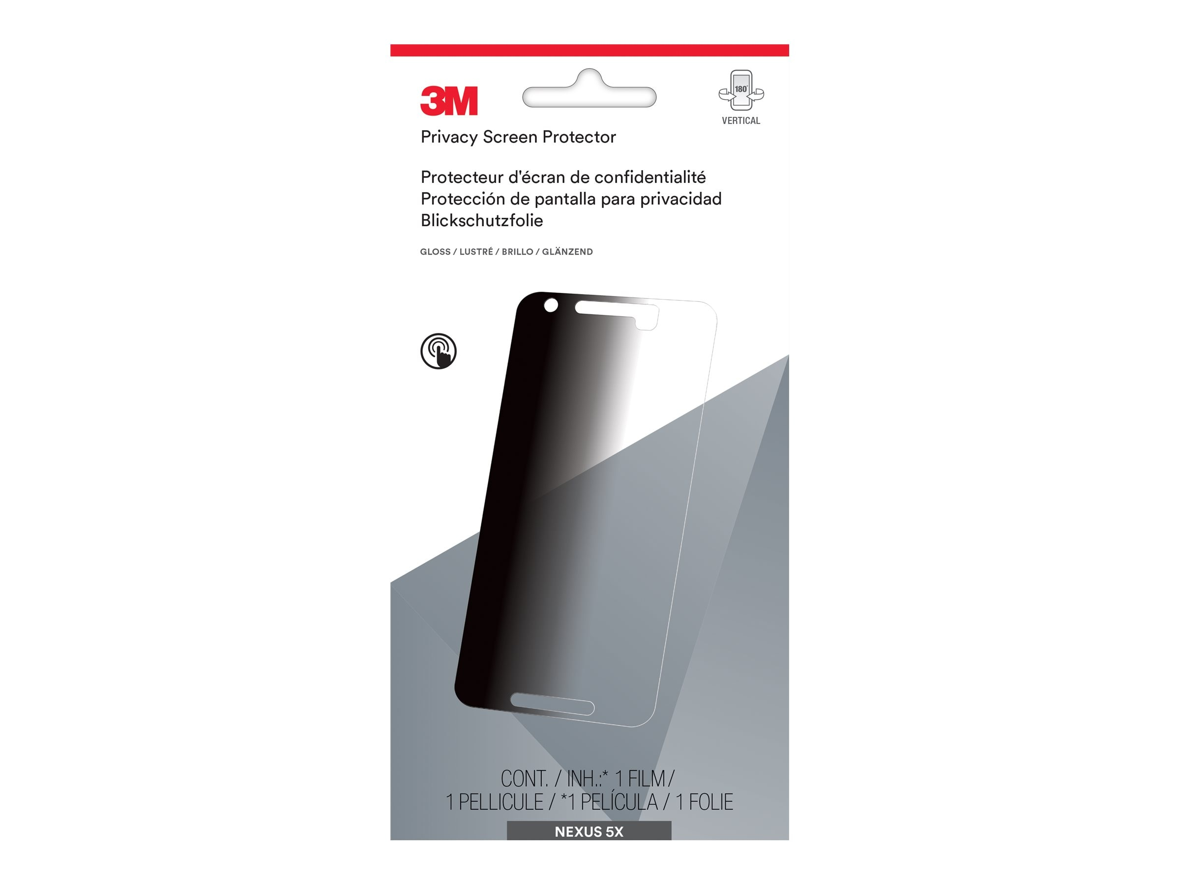 3M Privacy Screen Protector for Nexus 5x, MPPGG002