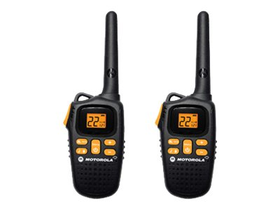 Motorola MD270R TalkAbout 2-Way Radios, 20-Mile, Black, MD207R, 15409888, Two-Way Radios