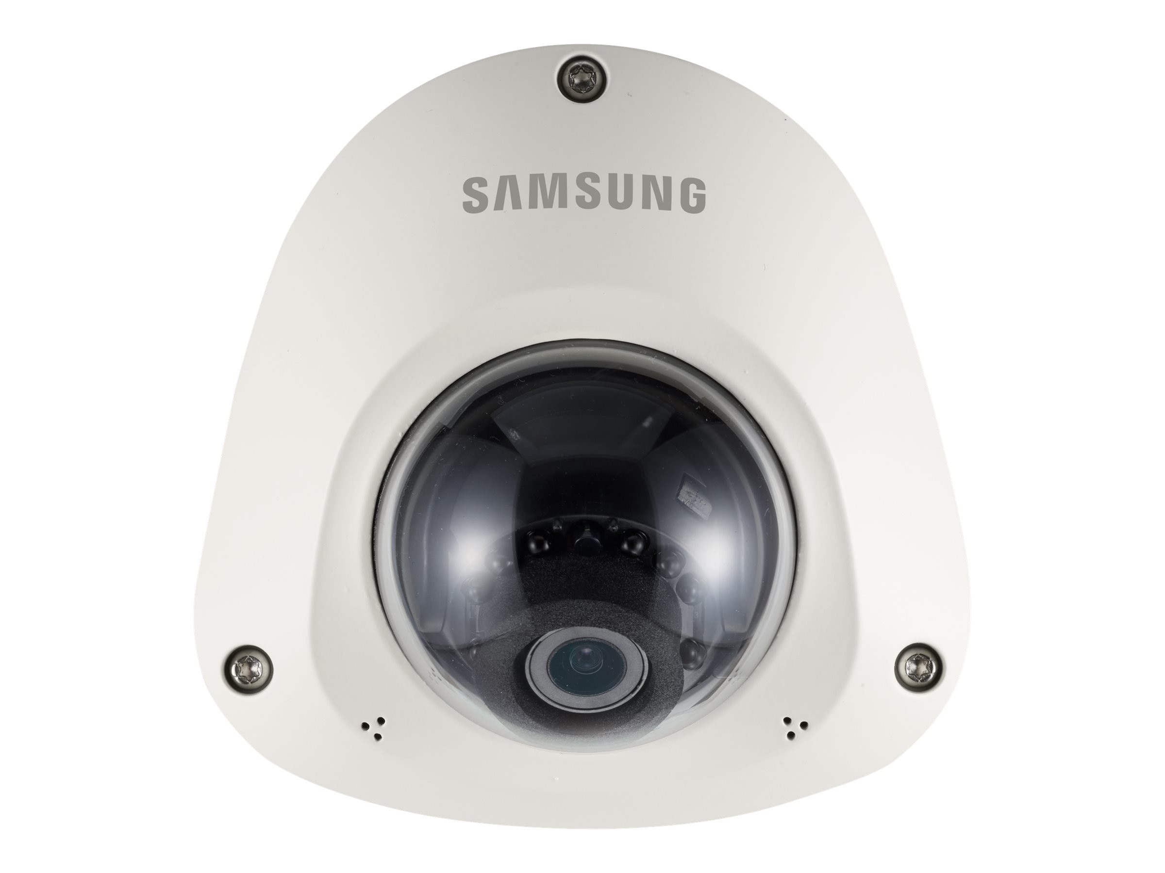 Samsung 2MP Full HD Vandal-Resistant Network IR Flat Camera, SNV-L6013R