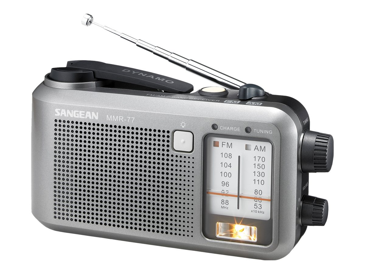 Sangean Multi-Powered AM FM Radio, MMR-77, 8490999, Portable Stereos