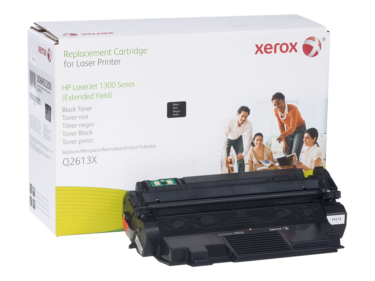 Xerox Q2613X Black Extended Yield Toner Cartridge for HP LaserJet 1300 Series, 006R03200