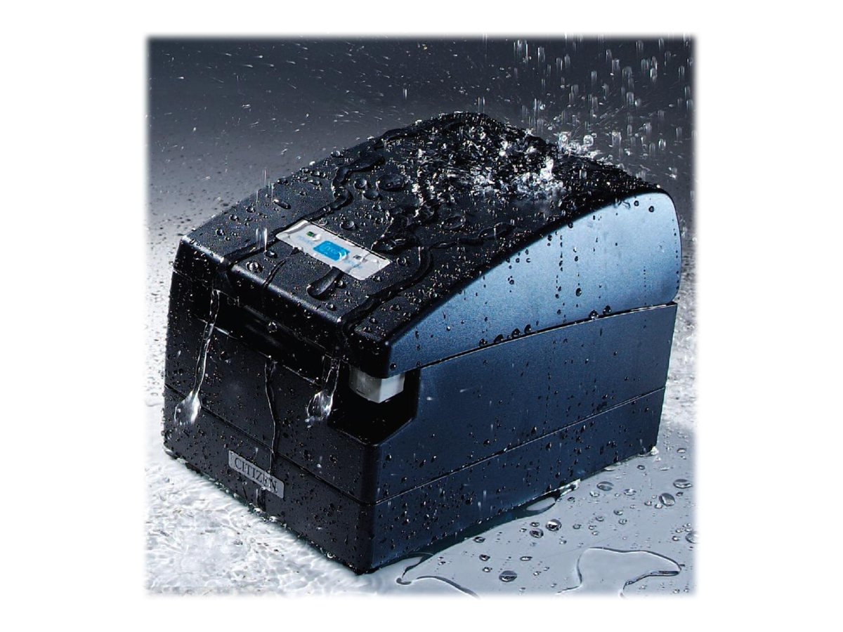 Citizen CBM CT-S2000 Hi-Speed USB SATA Thermal Printer (Black), CT-S2000RSU-BK, 6812034, Printers - POS Receipt