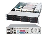 Supermicro Chassis, 1200W PSU, CSE-826E16-R1200LPB, 11857691, Cases - Systems/Servers