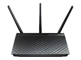 Asus 802.11ac Dual-Band Wireless-AC1750 Gigabit Router, RT-AC66U, 14418221, Wireless Routers