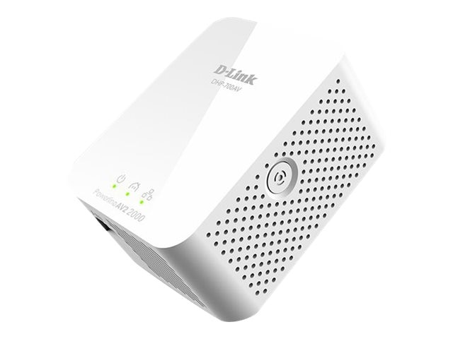 D-Link PowerLine AV2 2000 GB Network, DHP-701AV, 19375380, Network Starter Kits