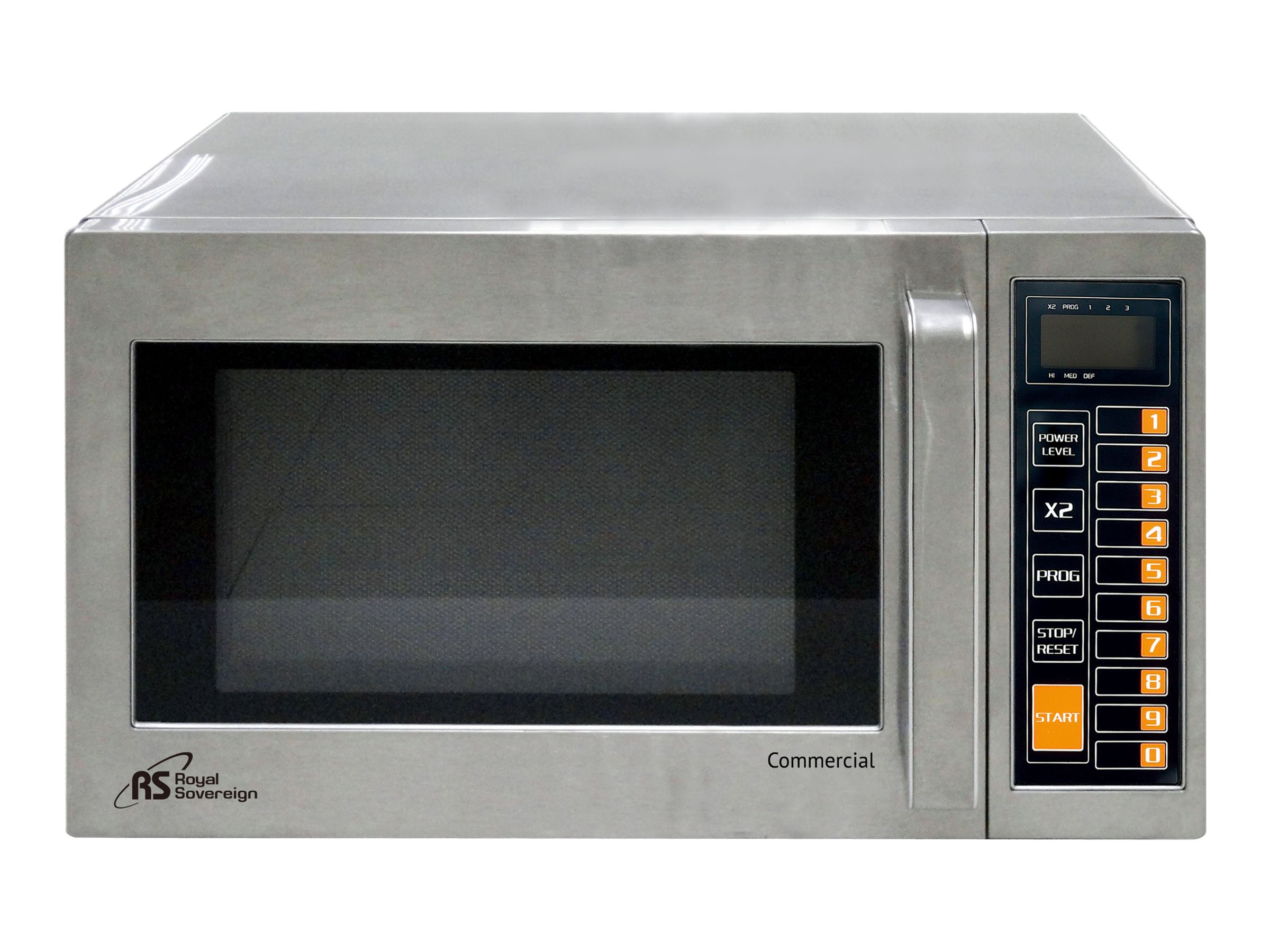 Royal Sovereign Commercial Grade 0.9 cu. ft. Stainless Steel Microwave