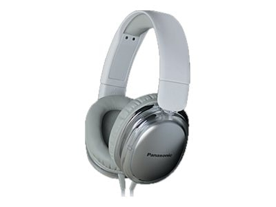 Panasonic StreetBand Monitor Headset w  Remote & Mic for Apple - White, RP-HX450C-W, 21016861, Headsets (w/ microphone)