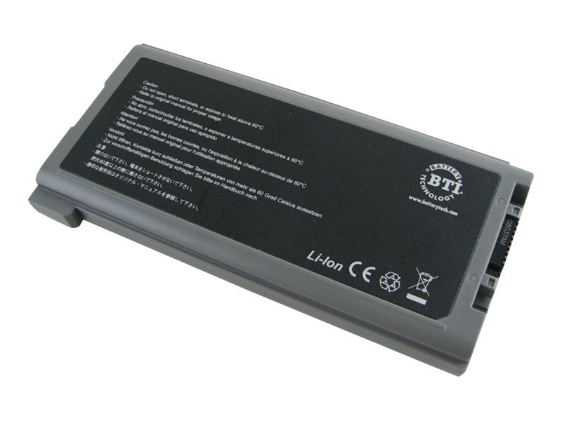 BTI Battery, Li-Ion 11.1V 7800mAh 9-cell for Toughbook CF-30 Series, CF-VZSU46U-BTI