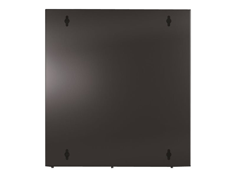 APC NetShelter WX 13U Enclosure with Threaded Hole Vertical Mounting Rail, Vented Front Door, Black, AR100HD