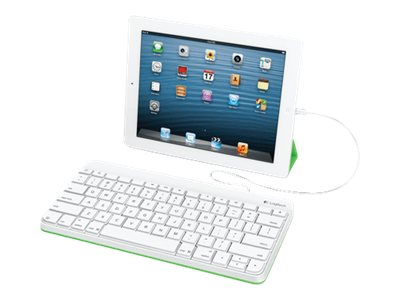 Logitech Wired Keyboard for iPad w  Lightning Connector, 920-006341