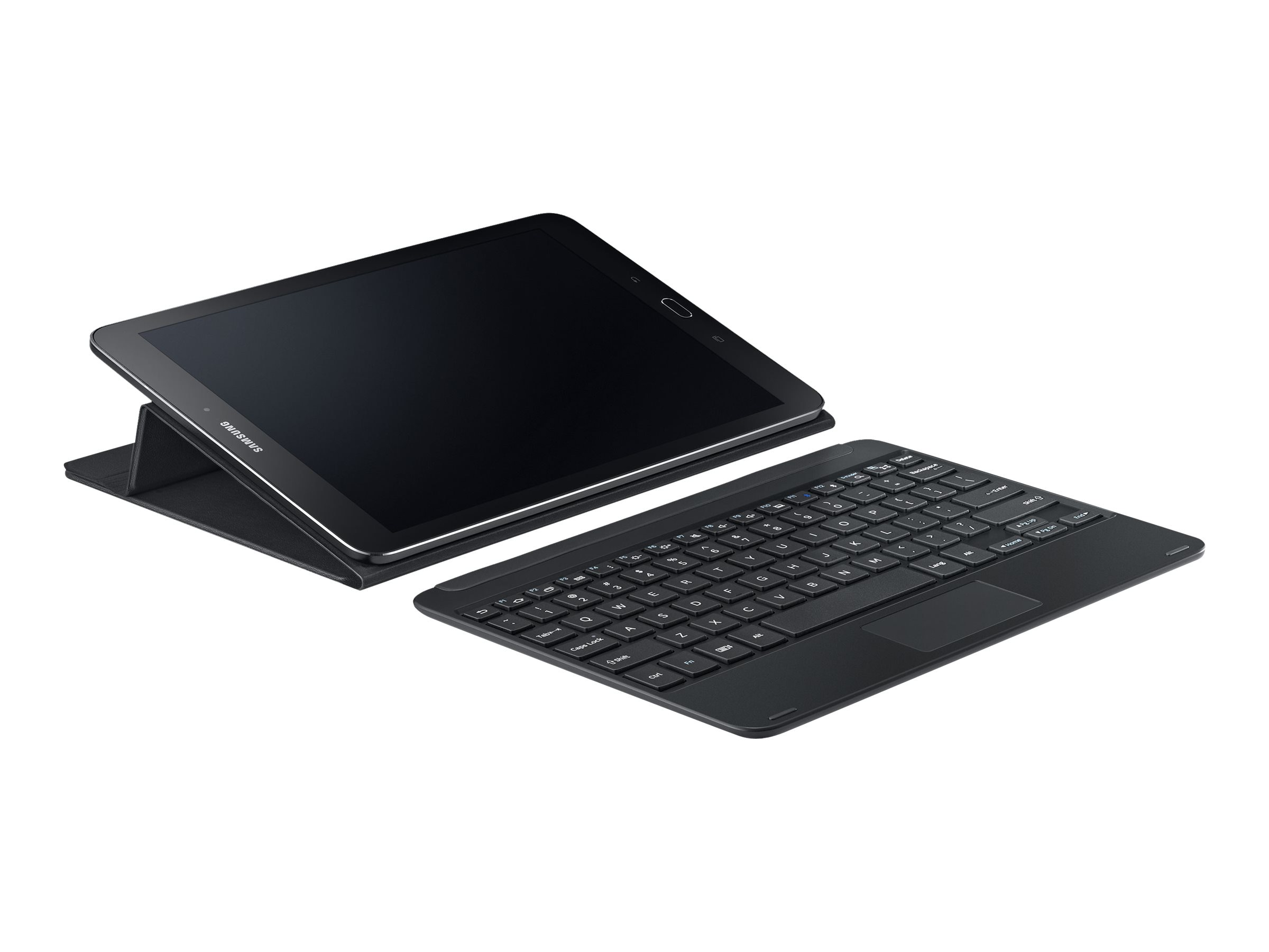 Samsung Keyboard Cover for Galaxy Tab S2 9.7, Black, EJ-FT810UBEGUJ
