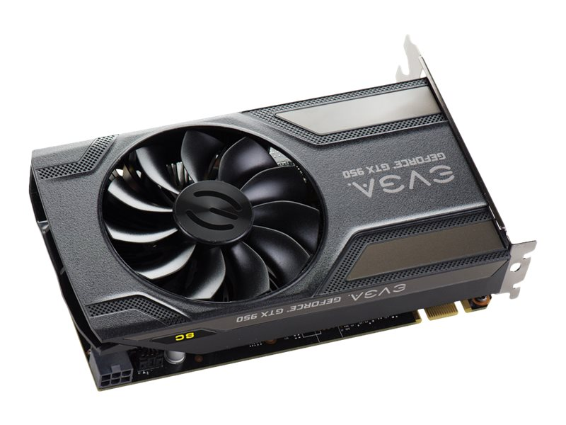eVGA GeForce GTX 950 SC Gaming PCIe 3.0 x16 Graphics Card, 2GB GDDR5, 02G-P4-1956-KR