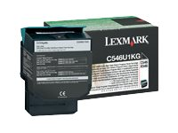 Lexmark Black Extra High Yield Return Program Toner Cartridge for C546dtn Printer & X546dtn MFP
