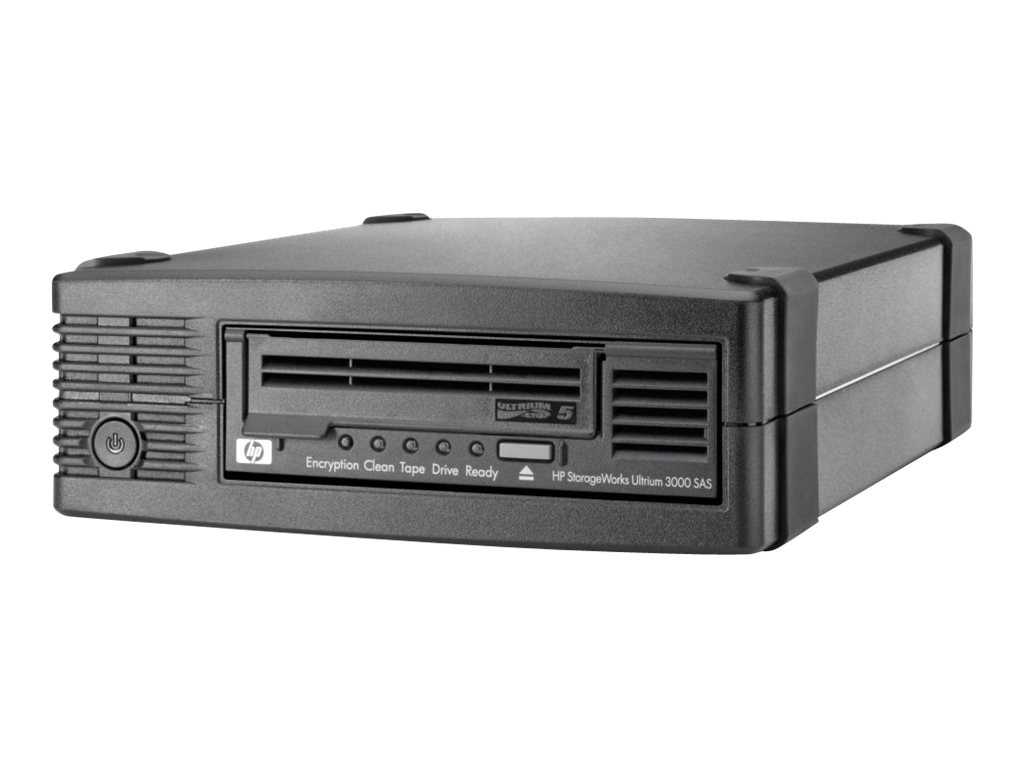 HPE StorageWorks LTO-5 Ultrium 3000 External Tape Drive (Smart Buy), EH958SB, 11278956, Tape Drives