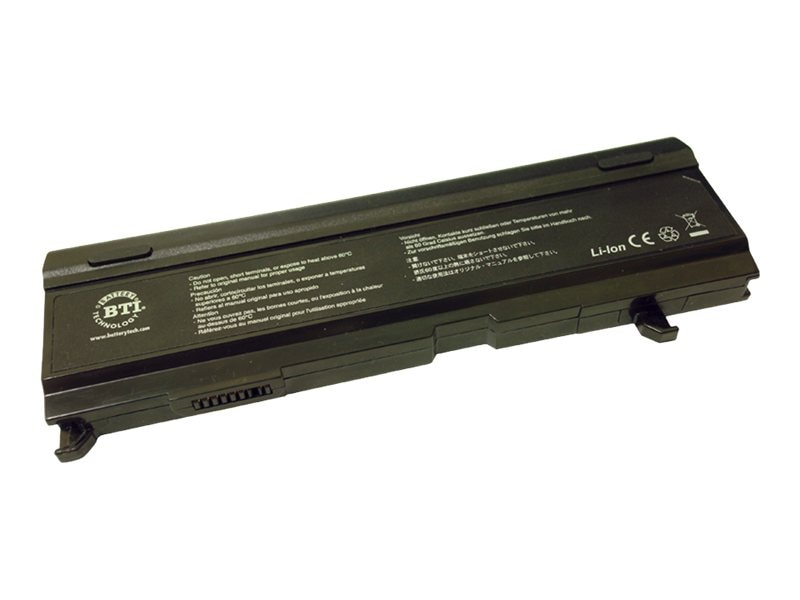 BTI 6-Cell Li-Ion Battery for Toshiba Satellite A80 A85