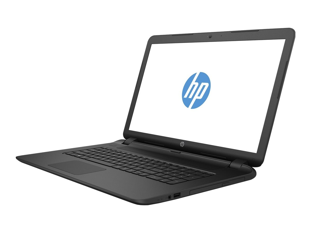 HP Notebook PC AMD A6-6310 750GB 17.3 W10 Black
