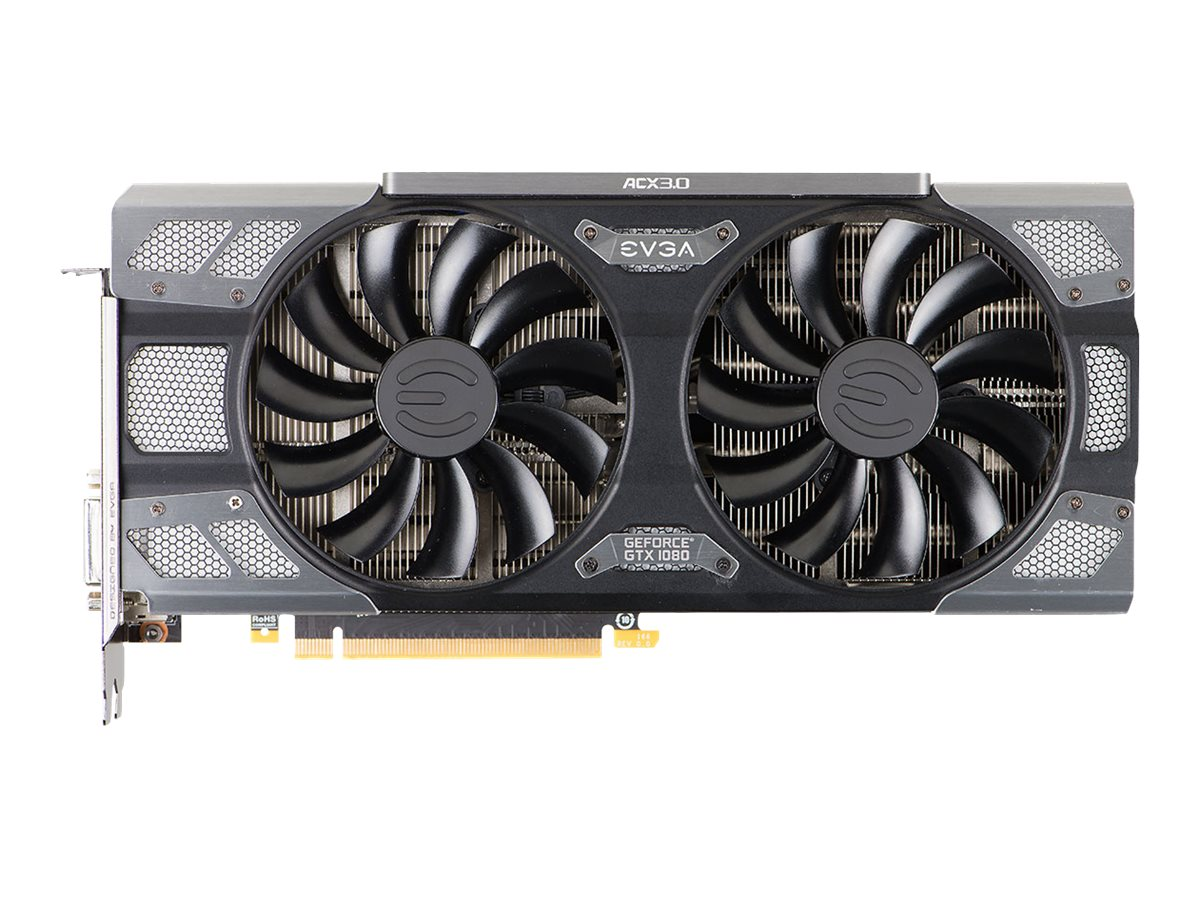 eVGA GeForce GTX 1080 PCIe 3.0 x16 Graphics Card, 8GB GDDR5X, 08G-P4-6284-KR
