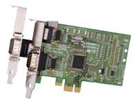 Brainboxes 2-port PCIe 1+1XRS232 Low Profile Controller
