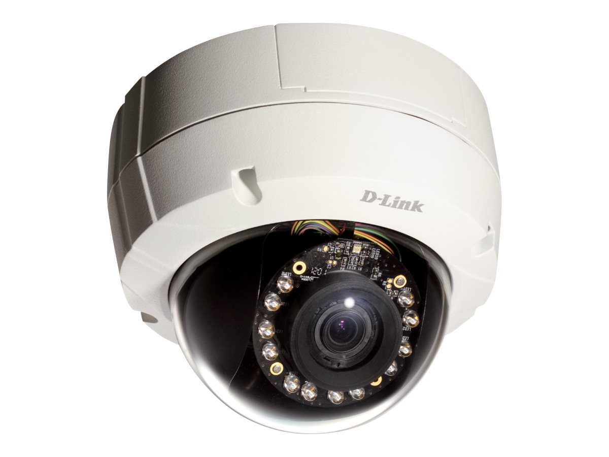 D-Link High-Definition Fixed Dome Day & Night Network IP Camera