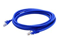 ACP-EP CAT6 24AWG UTP Snagless Molded Patch Cable, Blue, 15ft