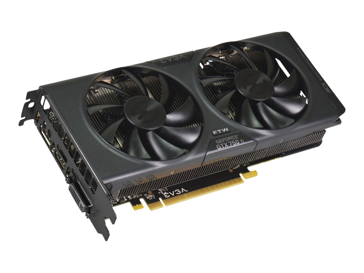 eVGA GeForce GTX 750 Ti PCIe 3.0 x16 Graphics Card, 2GB GDDR5, 02G-P4-3757-KR