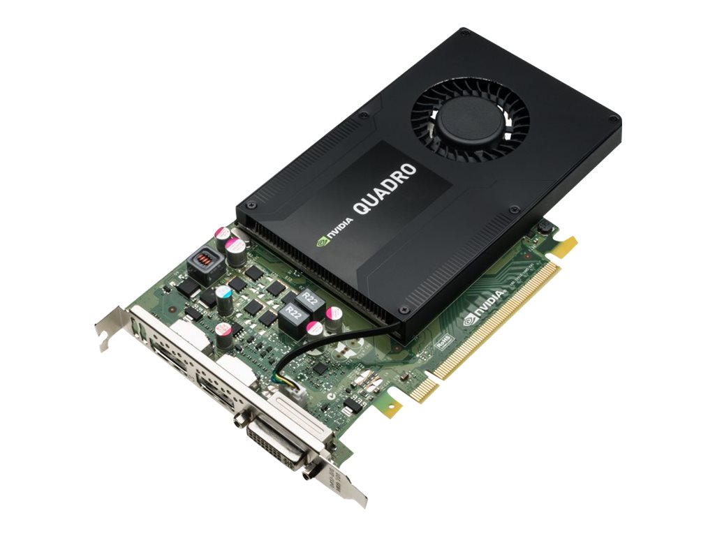 HPE NVIDIA Quadro K2200 PCIe Graphics Card, 4GB GDDR5, J0G89A, 17784323, Graphics/Video Accelerators