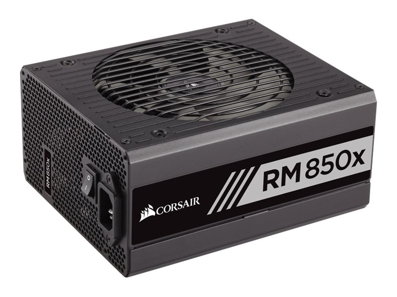 Corsair RM850x 850W 80 PLUS Gold Certified Fully Modular Power Supply Unit, CP-9020093-NA