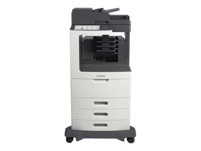 Lexmark MX811dtme Monochrome Laser Multifunction Printer, 24T7426