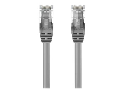 Belkin Cat6 UTP Patch Cable, Gray, Snagless, 6ft, A3L980-06-S