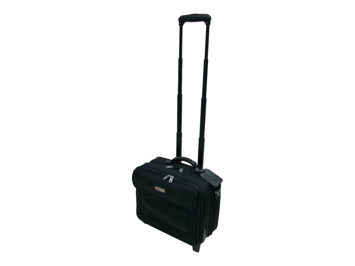 Jelco JEL-3325ER Executive Roller Bag for Projector & Laptop, Nylon, JEL-3325ER