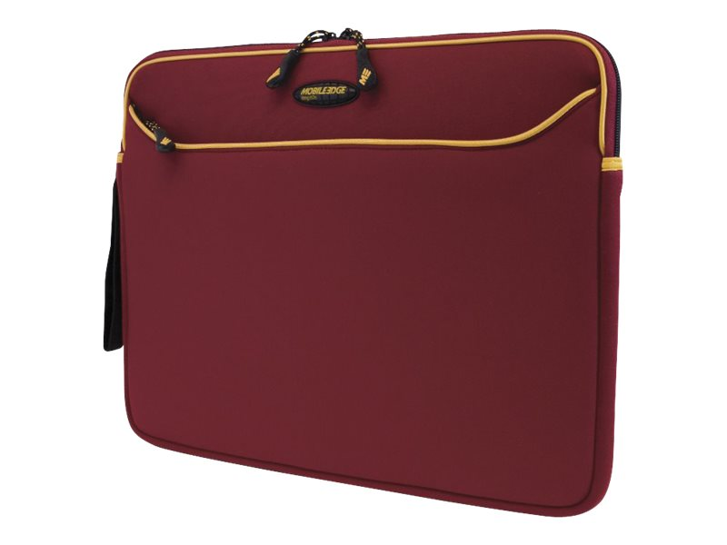 Mobile Edge Red Gold Neoprene Sleeve-14.1, MESS7G-14, 7305421, Carrying Cases - Notebook
