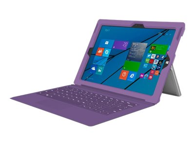 Incipio feather [Advanced] Ultra Thin Snap-on Case for Microsoft Surface Pro 3, Purple, MRSF-071-PUR, 31201497, Carrying Cases - Tablets & eReaders