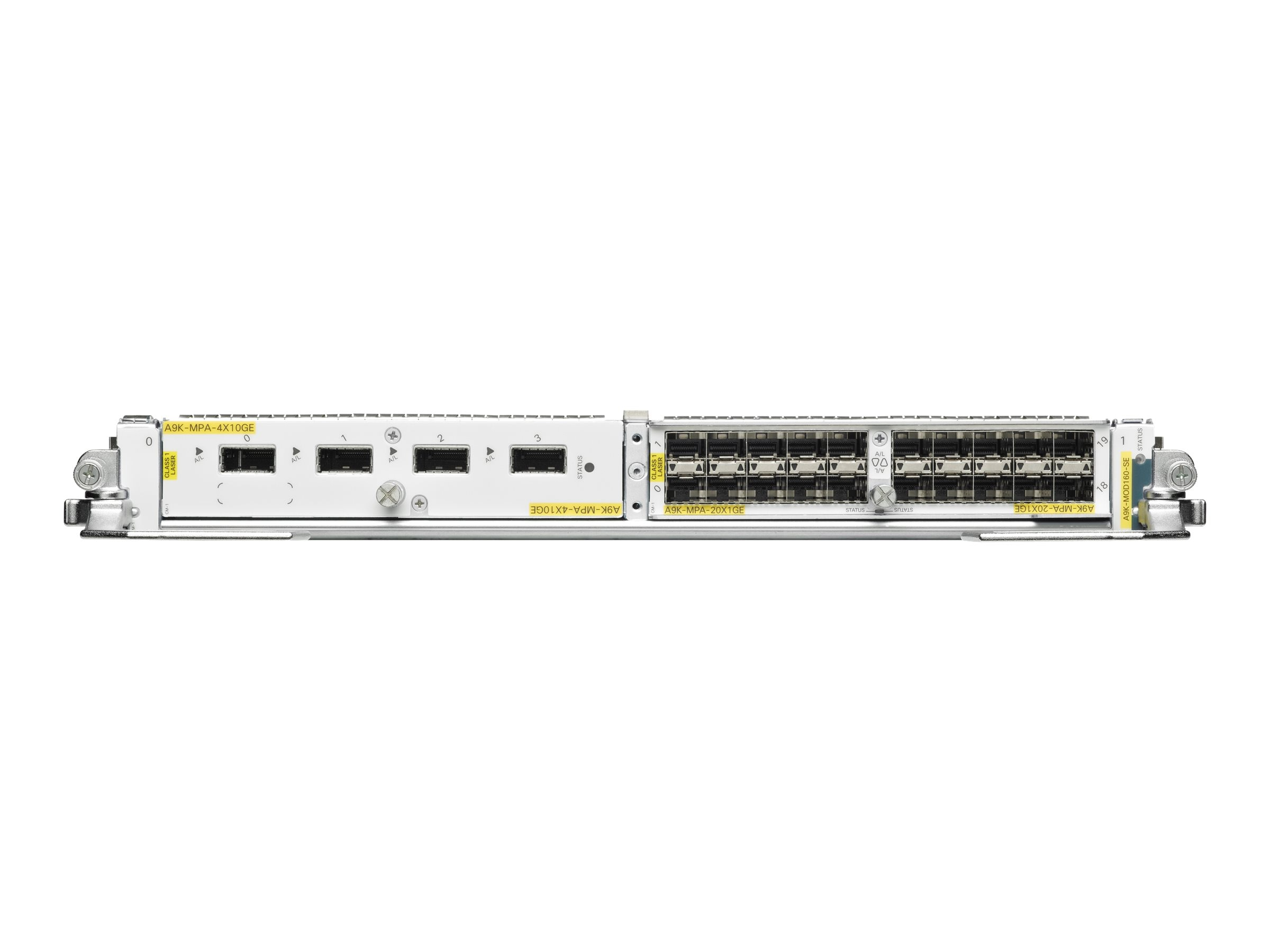 Cisco ASR 9000 Mod160 Modular Line Card, Service Edge Optimized (Req Modular Port Adapters), A9K-MOD160-SE