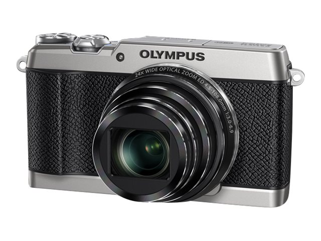 Olympus Stylus SH-2 Digital Camera, 16MP, 24x Zoom, Silver, V107090SU000, 21406237, Cameras - Digital - Point & Shoot
